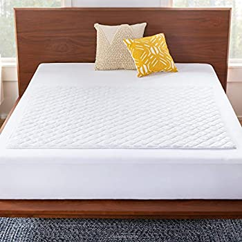Linenspa 44  x 52  Skid Resistant Waterproof Sheet and Mattress Protector Pad-Highly Absorbent-Machine Washable-Quilted