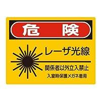 危険 レーザー光線 注意看板メタル安全標識注意マー表示パネル金属板のブリキ看板情報サイントイレ公共場所駐車