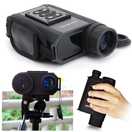 LaserWorks LRNV009 Day and Night Multifunction Laser Ranging Night Vision (Black)