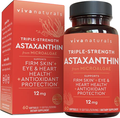 Astaxanthin 12mg (60 softgels) - Da…