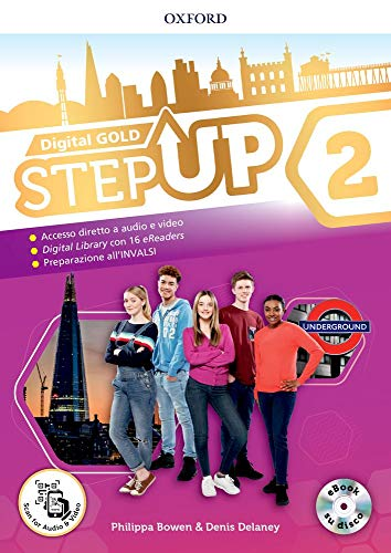 Step up gold. Student's book-Workbook-Extra book. Per la Scuola media. Con e-book. Con espansioni online. Con Libro: Mind map [Lingua inglese]: Vol. 2