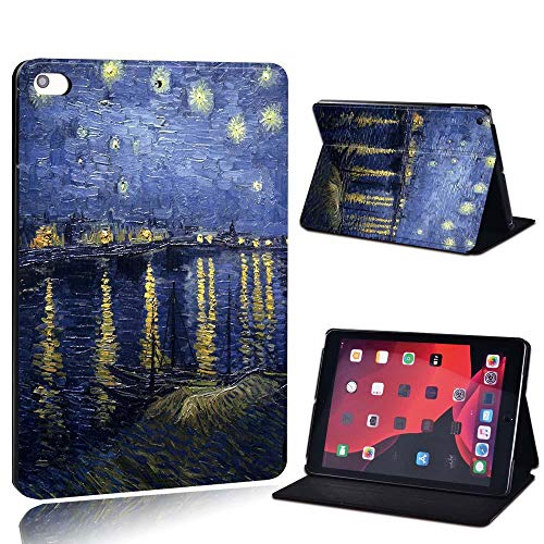 New Leather Smart Flip Case Stand Cover For Ap Ipad 2 3 4 / Mini 1 2 3 4 5 / Ipad 2017 2018 2019 / Air 3 / Pro 11 Tablet Case (Color : Boat, Size : IPad 2019 7th 10.2)