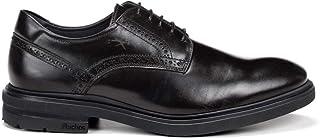 Fluchos | Vestir de Hombre | BELGAS F0630 Sierra Negro Zapato de Vestir | Vestir de Piel de Vacuno de Primera Calidad | Ci...