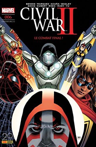 Civil War II n°6 (couverture 2/2)