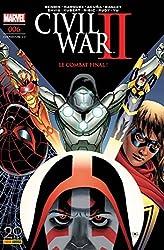 Civil War II n°6 (couverture 2/2) de Brian Michael Bendis