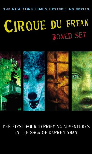 Cirque du Freak Boxed Set 1: A Living Nightmare   The Vampire s Assistant   Tunnels of Blood   Vampire