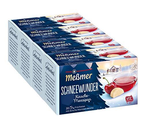 Meßmer Schneewunder - 20 Teebeutel, 4er Pack (4x 55 g)