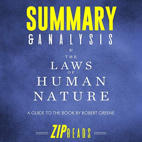 Summary & Analysis of The Laws of Human Nature audiobook cover art