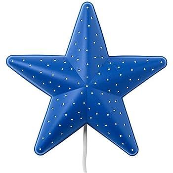 IKEA CHILDREN BLUE STAR BEDROOM WALL LIGHT/LAMP: Amazon.co ...