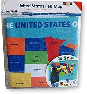 Horizon Group USA, Inc Wall Hanging Felt Map - United States - 23