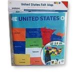 horizon group usa inc - Horizon Group USA, Inc Wall Hanging Felt Map - United States - 23