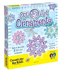 Creativity For Kids Opti-Art Ornaments