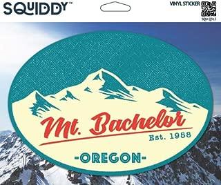 Squiddy Mt Bachelor Oregon - Vinyl Sticker for Car, Laptop, Notebook (5