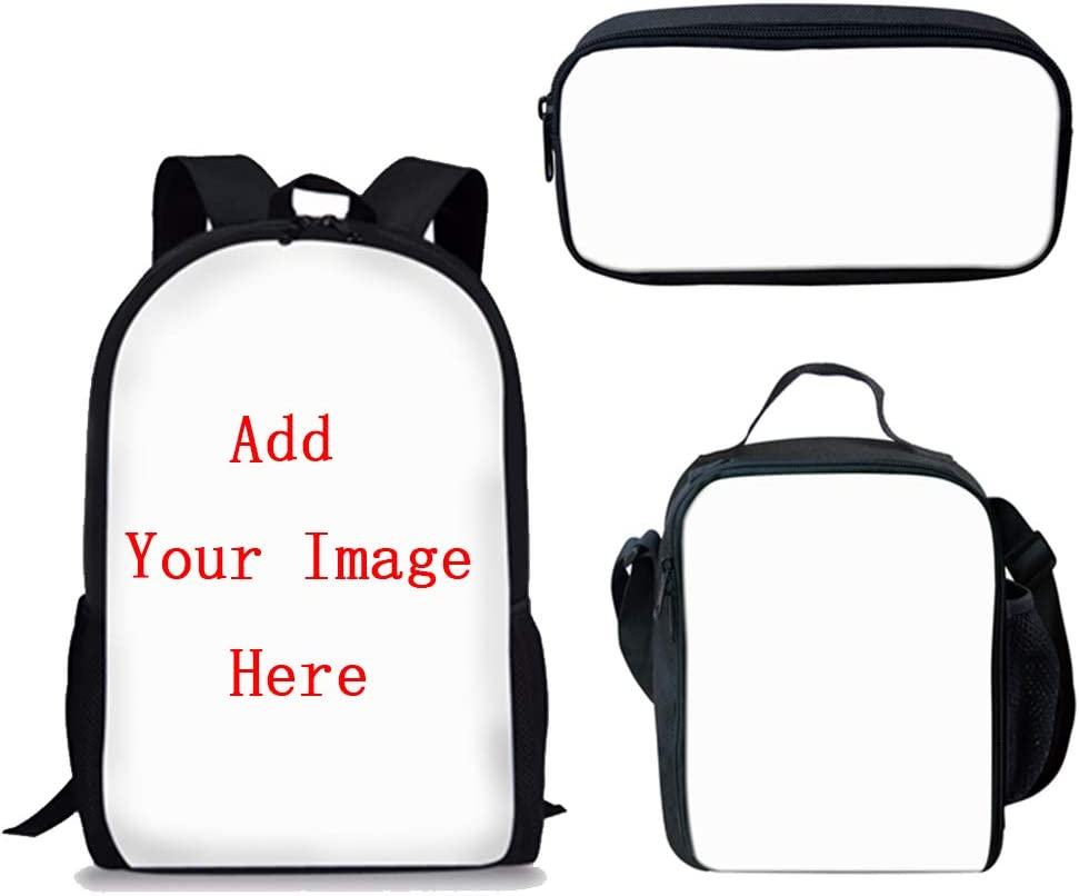 FANCOSAN 3PCS School Bags Omaha Mall Set Children Be super welcome Customized Elementary for