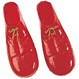 Rubie's 's Costume Co niño plástico Payaso Zapatos Disfraz, Rojo