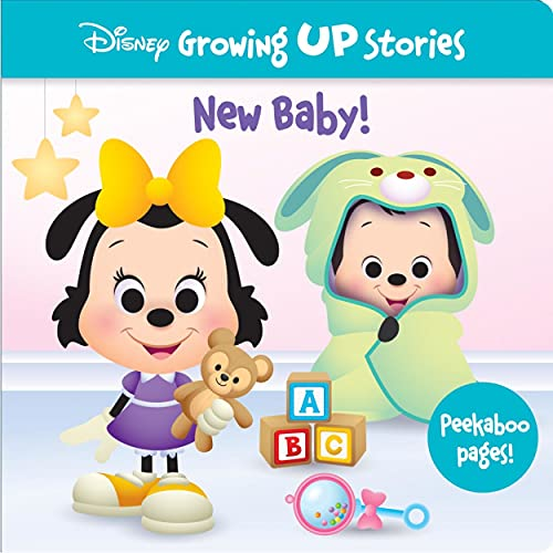 Disney Growing Up Stories - New Baby! Includes Peekaboo Pages! - Perfect for Big Brothers and Sisters - PI Kids