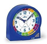ATLANTA Despertador, Azul, 8 x 8 cm