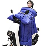 Cubierta de la pierna de la motocicleta cubierta de la pierna del cálculo de la manta for la protección del viento de la lluvia del cuerpo Protección del viento a prueba de agua Manta de moto acolchad