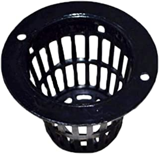 (SCGEHA) 水耕栽培 ポット 育苗 キット 鉢 スポンジ セット 黒 高さ35mm(50個)