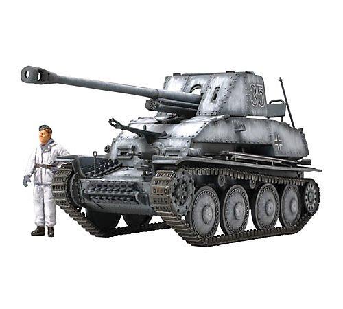 タミヤ 1/48 ミリタリーミニチュアシリーズ No.60 ドイツ陸軍 対戦車自走砲 マーダーIII 7.62cm Pak36搭載...