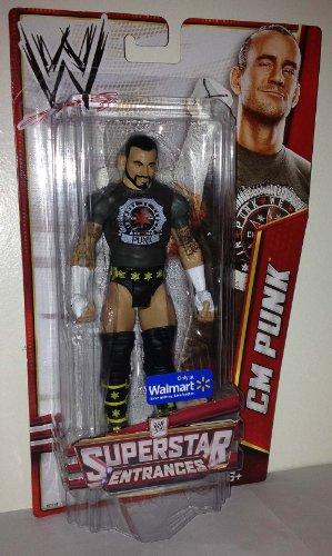 WWE Basic Exclusive Superstar Entrances CM Punk Action Figure