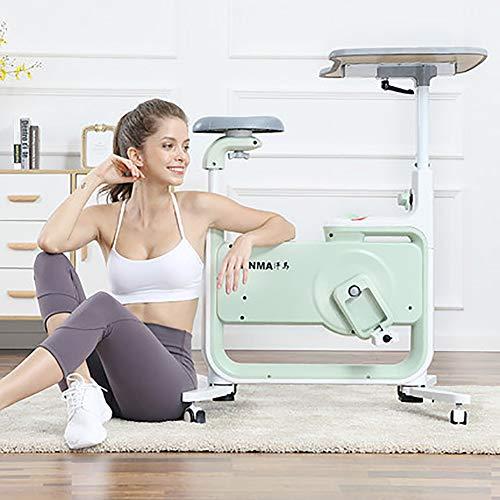 Indoor Hometrainer, Opvouwbare Magnetisch Bediende Mute Met Tablet Boekenplank Krant Kan Leren Tijdens Het Sporten