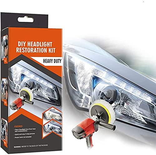 Visbella Headlight Restoration Kit
