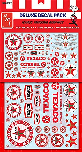 AMT Texaco Trucking Decals for 1/25 Scale Models MKA029