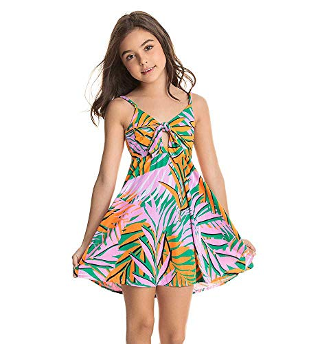 Maaji Mädchen Kids Swimwear & Beachwear Bademode, Cover-Up, grün, 38 DE