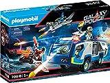 PLAYMOBIL Galaxy Police 70018 Policía Galáctica Camión, con Efectos de Luz, A Partir de 5 Años