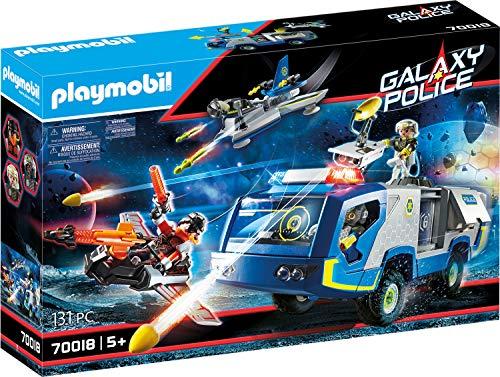 PLAYMOBIL Galaxy Police 70018 Police-Truck, mit Lichteffekten, ab 5 Jahren