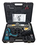2 Ton 12V Electric Scissor Car Jack + 1/2' Impact Wrench Lift Lifting Kit COMBO