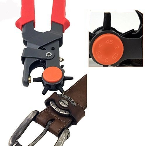 Adorox Heavy Duty Leather Belt Hand Hole Puncher