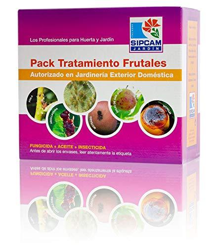 SIPCAM JARDIN Pack Tratamiento frutales (fungicida+Aceite+insecticida)