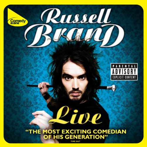 Russell Brand Live Shame audiobook cover art