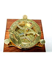 10cm Brass sundial compass fully functional compass nevegation nautical maritime vintage antique compass