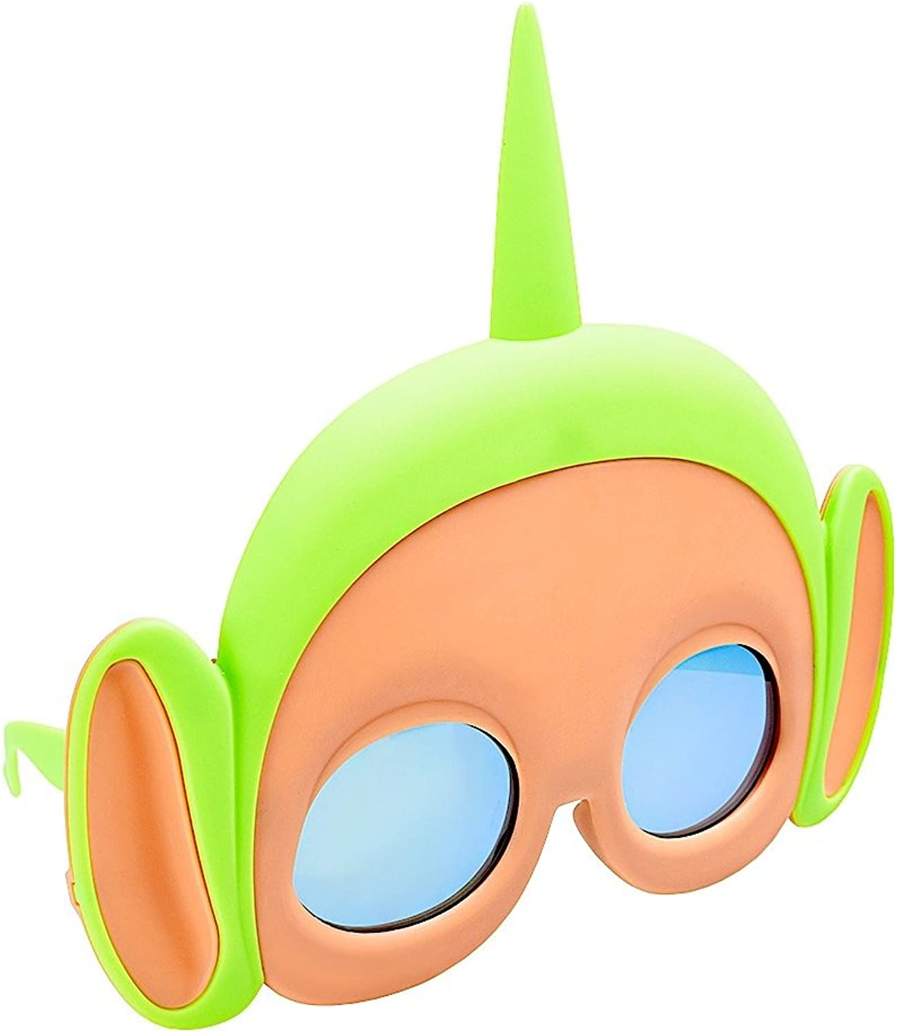 Sunstaches Teletubbies Dipsy Green Sunglasses, Party Favors, UV400
