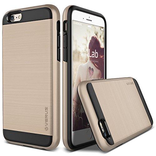 Verus URCOVER Custodia Protettiva Verge Edition per Apple iPhone 6 Plus 6S Plus   Back Cover Ultra-Slim Bumper Antishock   Scocca Rigida Case Ibrida in Rosso