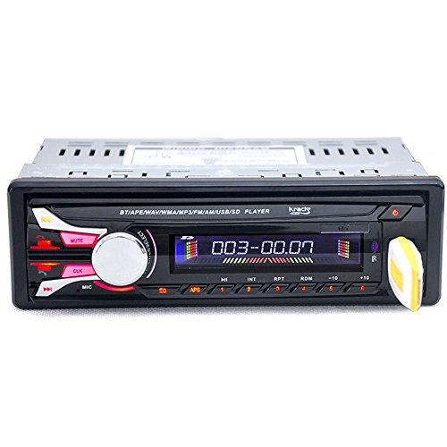 Boomboost Car Radio Bluetooth 12V USB/AUX/FM Estéreo Panneau détachable MP3 Reproductor