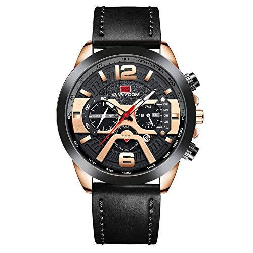 N-B Reloj deportivo de cuarzo para hombre, resistente al agua, multifunción, decorativo, casual, para exteriores