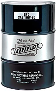 Lubriplate Lubricants Co L0754-062 - Engine Oil, SAE Grade: 10W-30, Composition: Mineral Oil, Container Size: 55gal, Drum