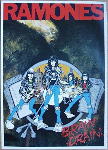 Ramones Poster Nr. 3 Format 62 x 86 cm Original von 1989