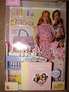 Barbie Midge and Baby Happy Family Doll Pregnant with Pink Dress