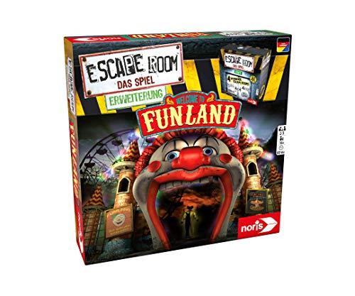 Noris 606101618 Escape Room Uitbreiding Welcome to Funland, vanaf 16 jaar - alleen met de Chrono Decoder speelbaar