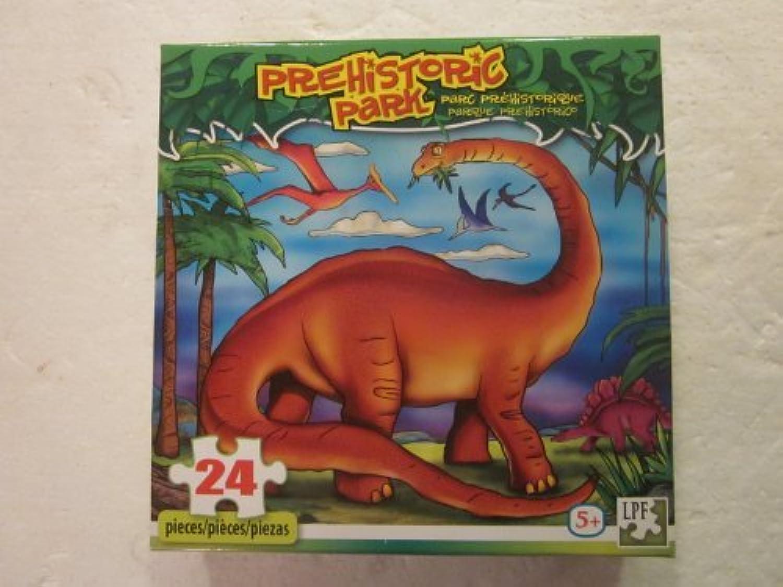 Prehistoric Park Jigsaw Puzzle 24 Piece by LPF