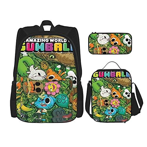 The Amazing World of Gumball - Juego de mochila 3 en 1...