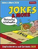 Jokes & More Sprachkalender. Tischkalender 2020. Tageskalendarium. Blockkalender. Format 12,5 x 16 cm - Harenberg