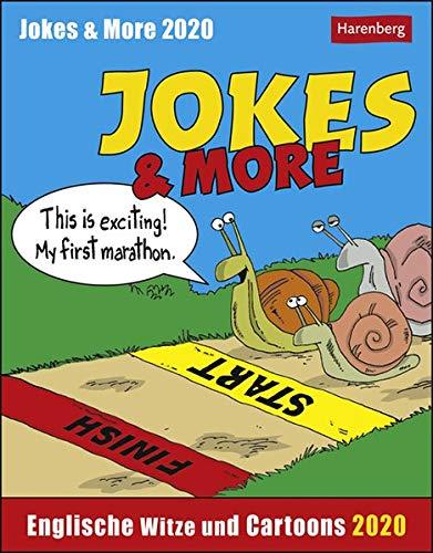 Jokes & More Sprachkalender. Tischkalender 2020. Tageskalendarium. Blockkalender. Format 12,5 x 16 cm