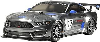 Tamiya 58664 58664-1:10 RC Ford Mustang GT4 TT-02, Coche teledirigido, modelismo, Kit de construcción, Hobby, Construir, Gris