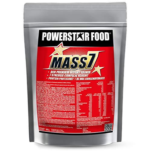 WEIGHT GAINER für MASSEPHASE - 7-stufiges Masseaufbausystem - Kalorienshake für Magermasse, Kraft & schnelleren Muskelaufbau - Zip-Beutel Proteinpulver - MADE IN GERMANY (Vanilla, 1610 g Beutel)